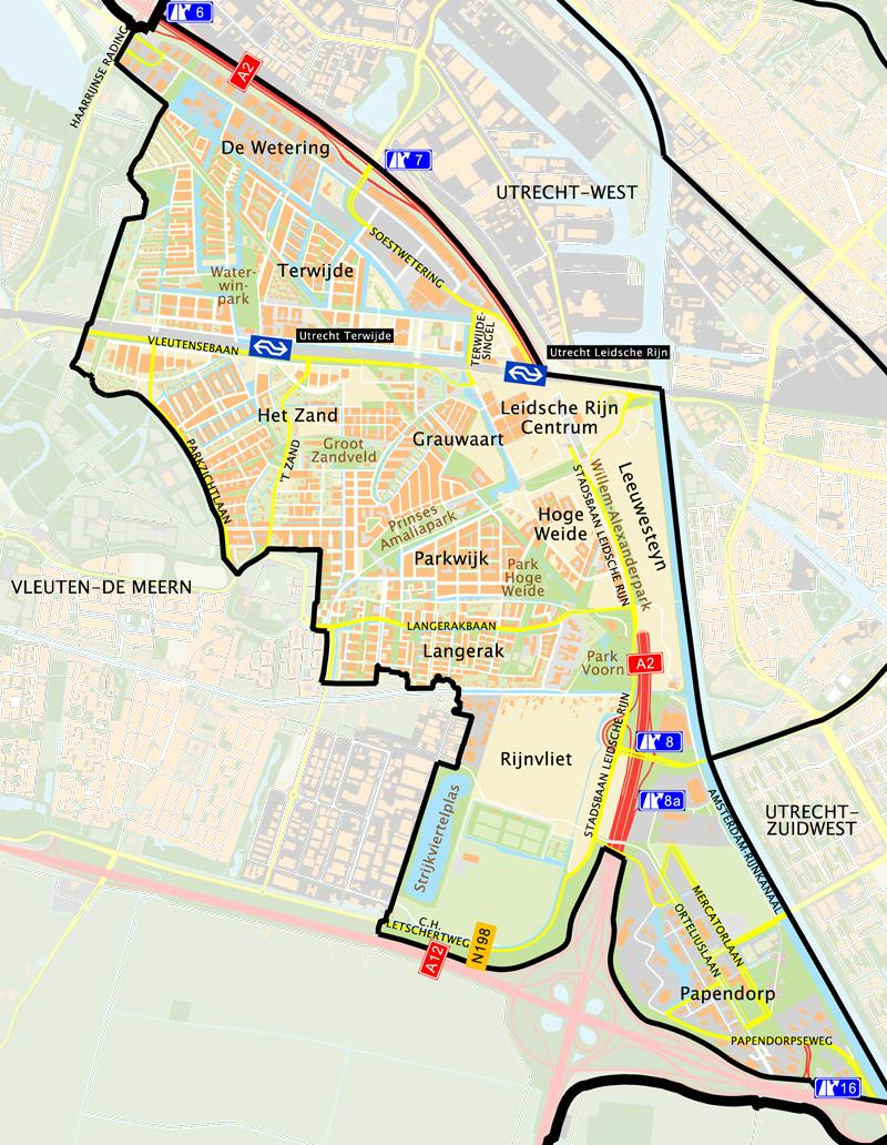 NVM aankoopmakelaar in leidsche rijn plattegrond