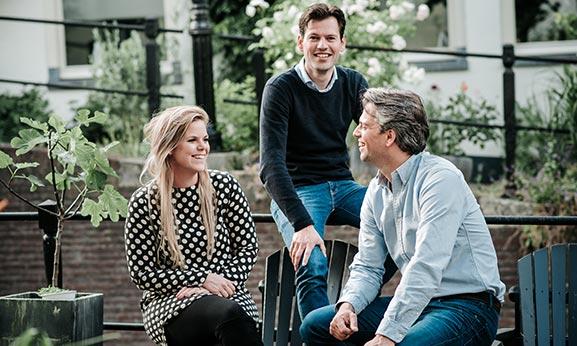 de-aankoper aankoopmakelaar in utrecht team Julie Wietse Menno